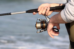 Pesca foto de archivo libre de regalías