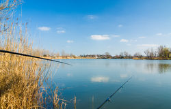 Pesca ancora della vita Fotografie Stock Libere da Diritti