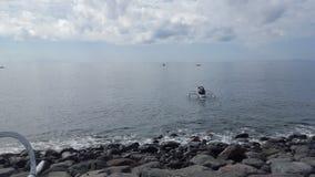 Pesca andante Fotografie Stock Libere da Diritti