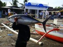 Pesca artesanal del atún de trucha salmonada en Philippines#10 Imagen de archivo libre de regalías