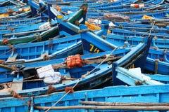 Pesca-barche marocchine Immagini Stock
