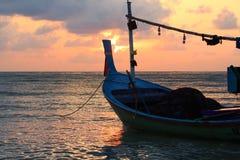 Pesca boat1 Foto de Stock