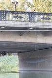 Pesca con una red del puente Imagen de archivo
