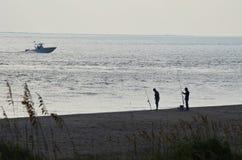 Pesca costera Foto de archivo libre de regalías