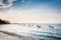 Pesca da manhã Foto de Stock