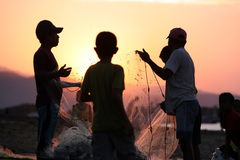 PESCA DA PRAIA DE ÁSIA TIMOR-LESTE TIMOR-LESTE DILI Imagem de Stock