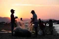 PESCA DA PRAIA DE ÁSIA TIMOR-LESTE TIMOR-LESTE DILI Fotografia de Stock Royalty Free