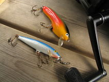 Pesca da rotação fotos de stock