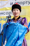 A ?a pesca de Baikal Imagem de Stock Royalty Free