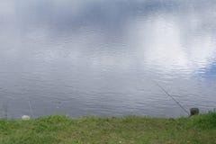 Pesca de bajura de la cabeza y de las barras imagenes de archivo