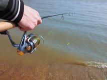 Pesca de giro imagen de archivo