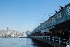 Pesca de la ciudad Imágenes de archivo libres de regalías