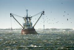Pesca de la nave Foto de archivo