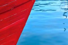 Pesca de la nave en el puerto Imagen de archivo