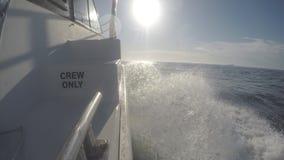 Pesca de la onda de arco del barco de la carta