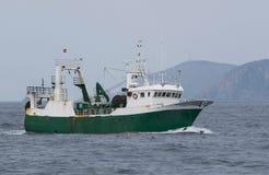 Pesca de la red barredera Imagen de archivo libre de regalías
