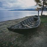 Pesca de lago russia Baikal Imagen de archivo libre de regalías