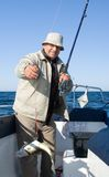 Pesca de mar. Foto de Stock Royalty Free