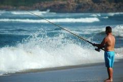 Pesca de mar foto de stock royalty free