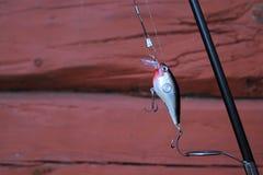 Pesca de señuelo fotografía de archivo