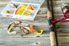 Pesca de señuelos imagen de archivo libre de regalías