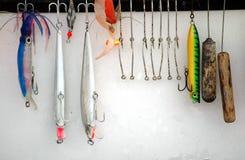 Pesca de señuelos Fotos de archivo