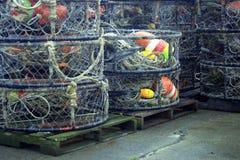 Pesca de trampas y de señuelos fotografía de archivo