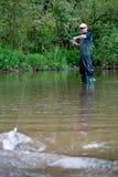 Pesca dei 4 Fotografia Stock Libera da Diritti