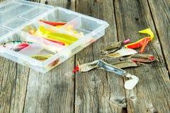 Pesca dei richiami Fotografia Stock