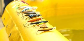 Pesca del cebo Imagen de archivo libre de regalías