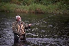 Pesca del fiume fotografia stock libera da diritti
