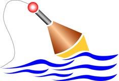 Pesca del flotador Imágenes de archivo libres de regalías