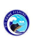 Pesca del gioco di Logo Big Immagini Stock Libere da Diritti