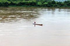 Pesca del Mekong Fotos de archivo