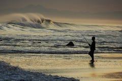 Pesca del océano foto de archivo libre de regalías