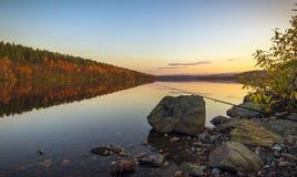Pesca del otoño Fotos de archivo libres de regalías