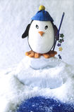 Pesca del pinguino del giocattolo   Immagini Stock