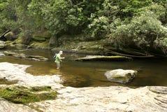 Pesca del río Fotos de archivo libres de regalías
