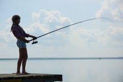 Pesca del verano imágenes de archivo libres de regalías