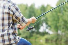 Pesca del verano Fotos de archivo libres de regalías