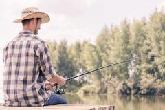 Pesca del verano Imagen de archivo