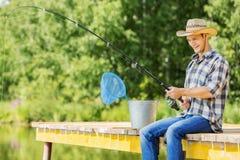 Pesca del verano Fotos de archivo