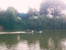 Pesca della barca alla Tailandia Fotografie Stock