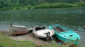pesca delle barche Fotografia Stock Libera da Diritti
