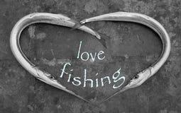 Pesca di amore Fotografie Stock