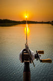 pesca di finezza Immagine Stock
