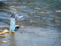Pesca di mosca immagine stock libera da diritti