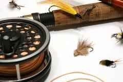 Pesca di mosca Fotografia Stock