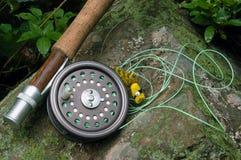 Pesca di mosca II fotografie stock libere da diritti