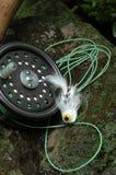 Pesca di mosca IV Fotografie Stock Libere da Diritti